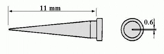 WELLER páka hegy WSP80 06mm WEL.LT-T -
