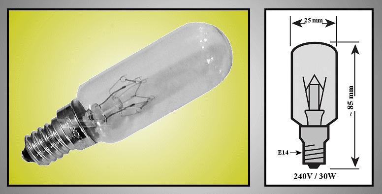 240V 25W E14 (fehér) LAMP 0170/1