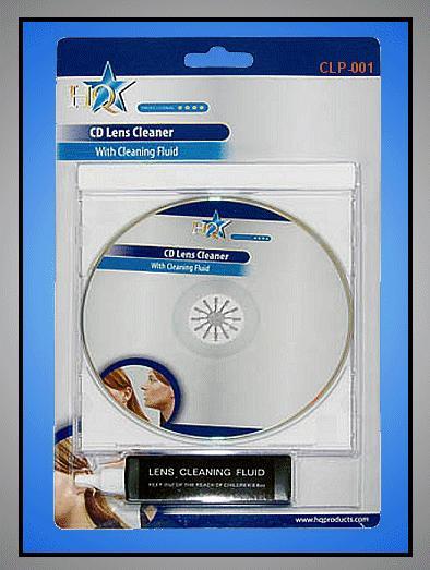 CD és DVD lencse tisztitó készlet CLP-001