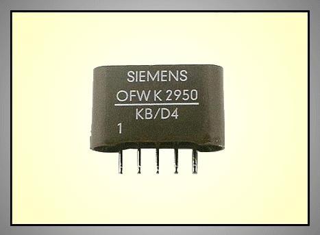 KF hullámszűrő 38.9MHz 5.5/6.5MHz OFWK2950