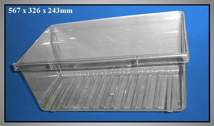 Alsó zöldség tároló doboz SR38 W8-DA6710197D