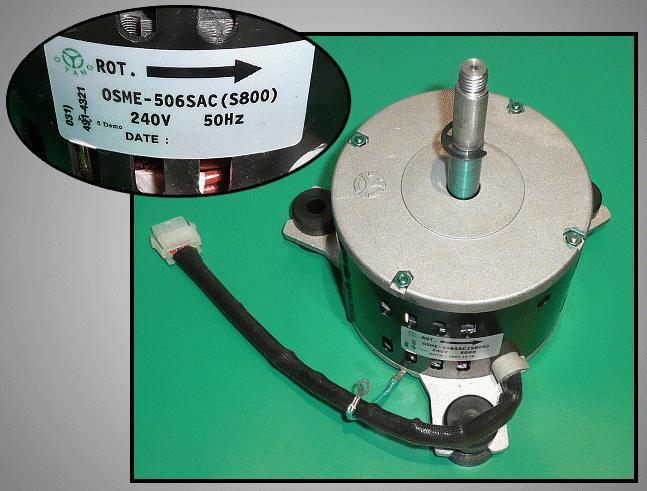 Ventilátor motor (kültéri) OSME-506SAC (S800) W2-DB3100026D