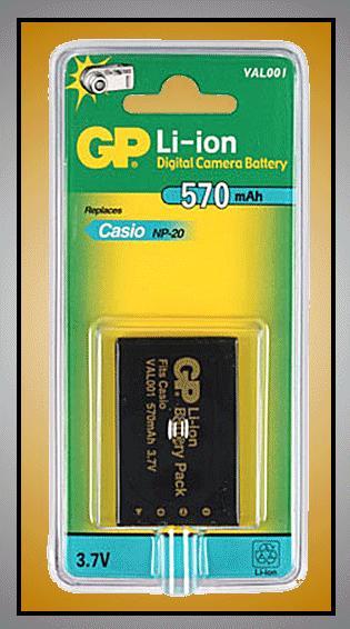 Li-Ion 3.7V 570mAh akkumulátor 33x4,8x51,5mm ACCU FOT-100-57