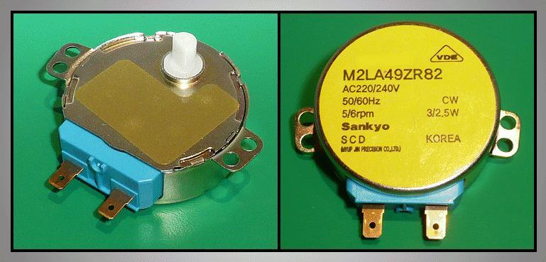 Forgató motor M2LA49Z W8-DA3110107C