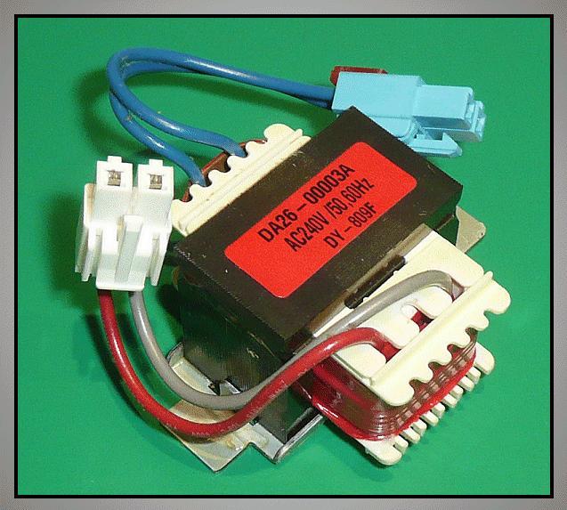 Motor, TRANS DC / 240V,50/60Hz, 17V, 0.2A W8-DA2600003A