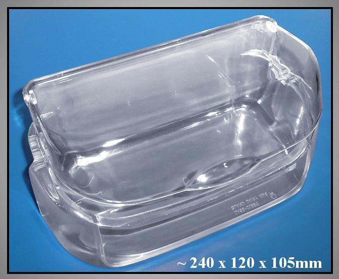 Hűtő vajtartó / átlátszó-fedeles W8-DA6300405A