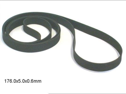 Lapos gumi szíj 176.0x5.0x0.60mm B/F176-50