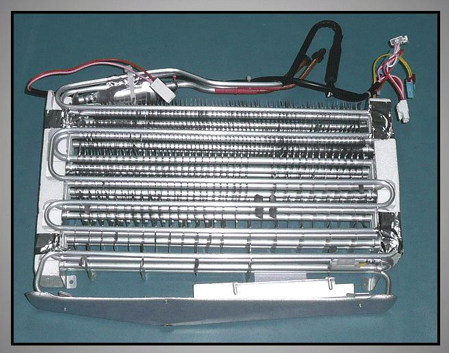 Párologtató fagyasztó részbe W8-DA9600024E