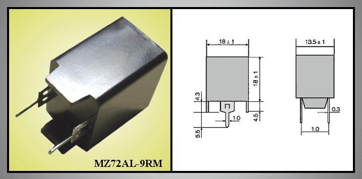 PTC-WIDERSTAND MZ72AL9RM 2p. PTC/MZ72AL9RM