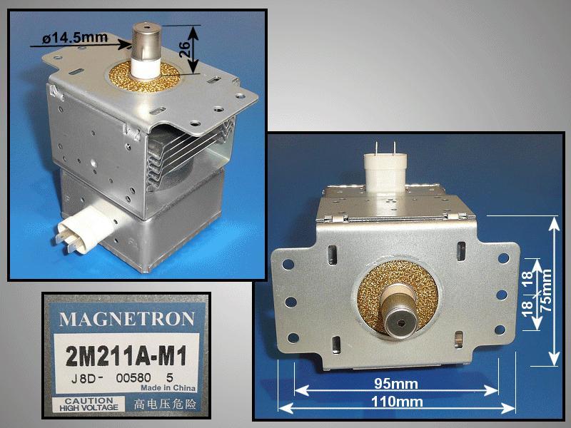 MAGNETRON HITACHI 2M211-M1JP MAGNETRON 159