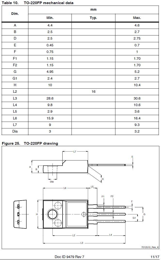Tranzisztor N-MOSFET+Z 900V 8A/32Ap. 40W 1.1R (5A) STF9NK90Z STF9NK90Z -