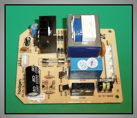 Borhűtő elektronika W8-DA4100123F