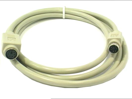 Kábel PS/2---BILL. hosszabbító 5.0m I11310-5.0