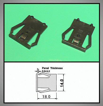 1 pár Z-48-as kódkapcsolóhoz rögzítő ENCODER Z-48C