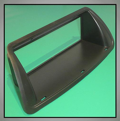 Autórádió keret, fekete 1DIN FIAT CAR-BOX40.082.2