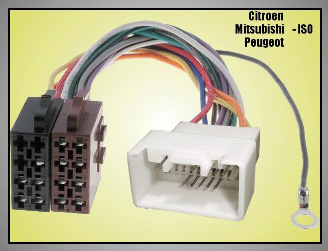 Citroen, Mitsubishi, Peugeot 8p.+5p.csatlakozó CSAT-CAR02620/I