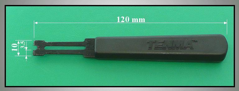 E-clips 2,0mm csavarhúzó VCR TOOL-09
