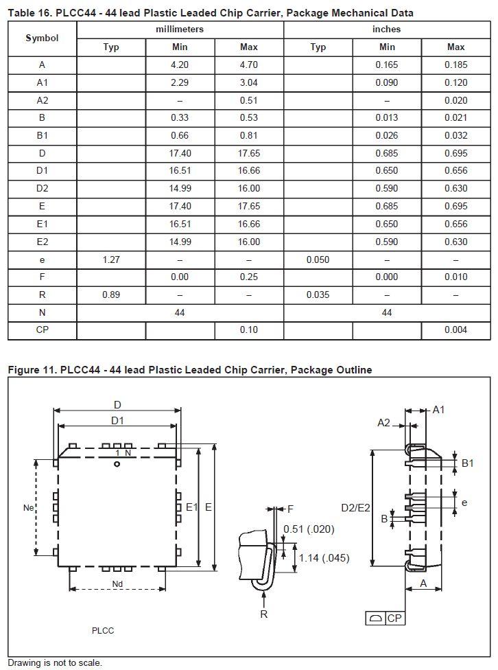 C-EPROM 256Kx16 100nS 44p. 27C4002-100 SMD -