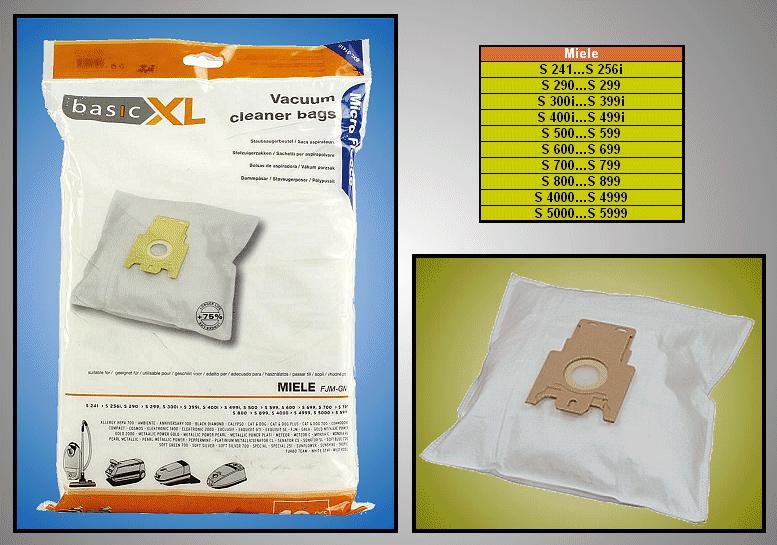 Porszívó papír porzsák 10db+2F W7-00999/10