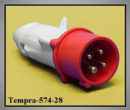 Dfh-163k06m 3P+F lengő dugó V-57428