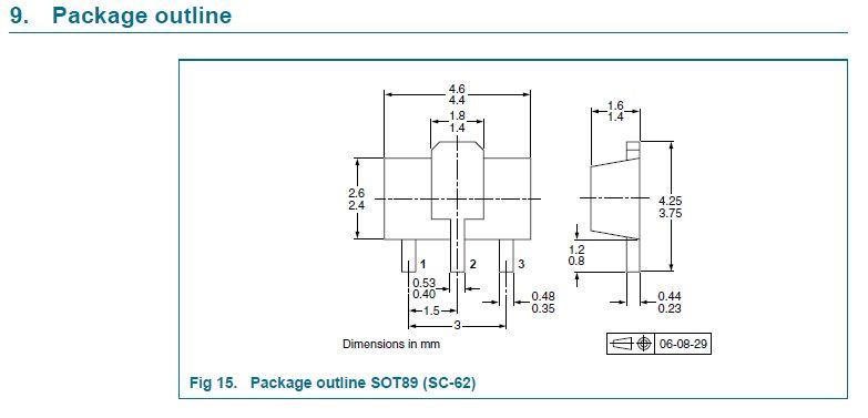 Tranzisztor PNP SMD 50V 2A 0.5W 120MHzUNI 2SA1213 2SA1213 -