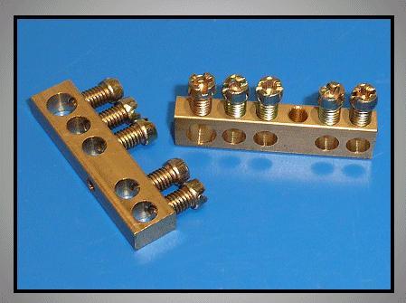 Elosztókapocs csupasz 1+4cs.M4 V-4801