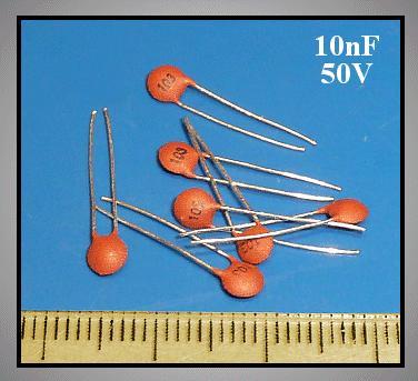 Kerámia Disc kondenzátor 10nF 50V 20% Rm:2.54 CC 10K 50V