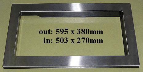 Beépítő keret MW-ASSY4