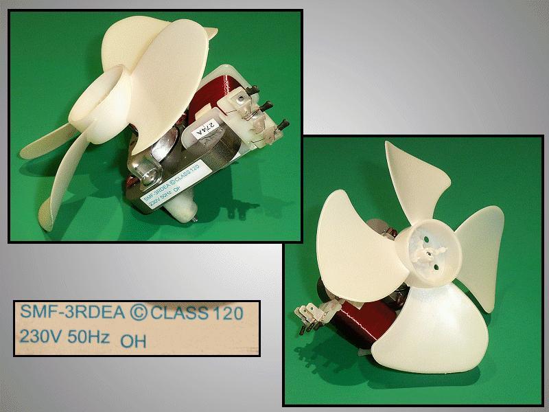 Ventilátor motor 230V 50Hz SMF-3RDEA MW-M216