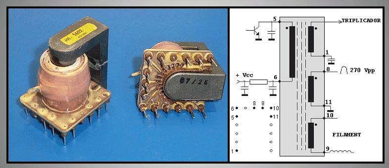 TRAFO: MONITOR sorkimenő HR5602