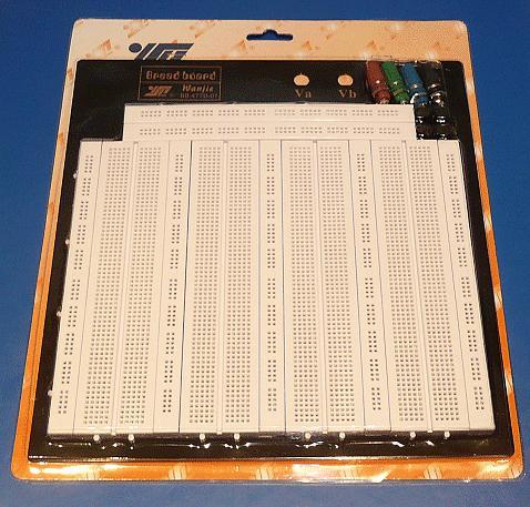 Próbapanel 2560 érintkezős, 700 mező, forrasztásmetes PP-Z2560/700