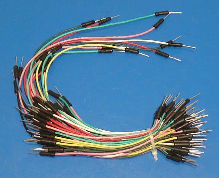 Hajlékony átkötő huzal szett 65db-os dugó - dugó PP-Z-SET065