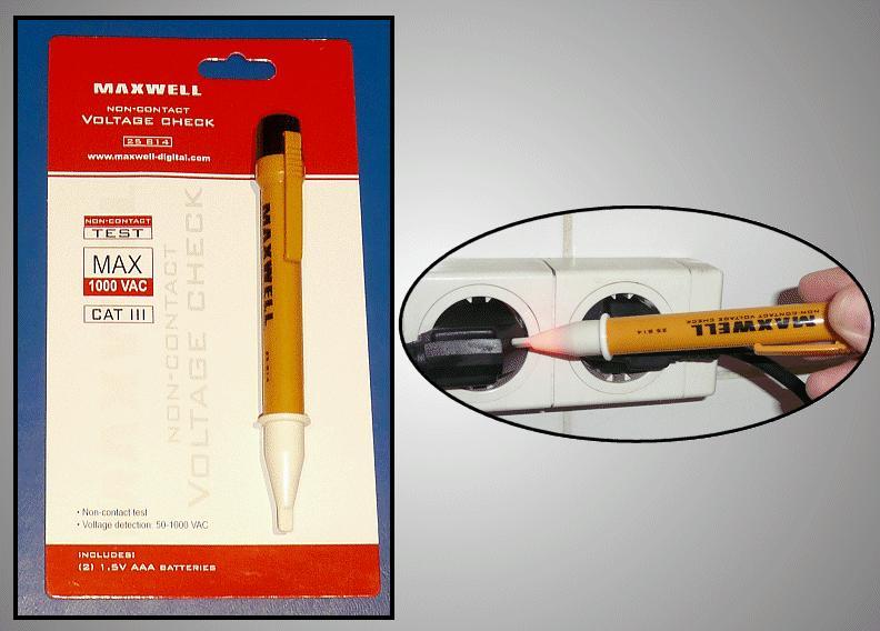 Érintés nélküli feszültség detektor M.M-MX-25814