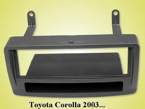 Autórádió keret: 2ISO Toyota CAR-BOX40.139