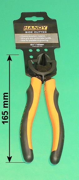 Oldalcsípő fogó 165mm TOOL-0510-165