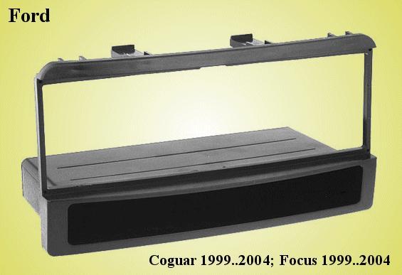 Autórádió díszkeret Ford CAR-BOX40.072.B