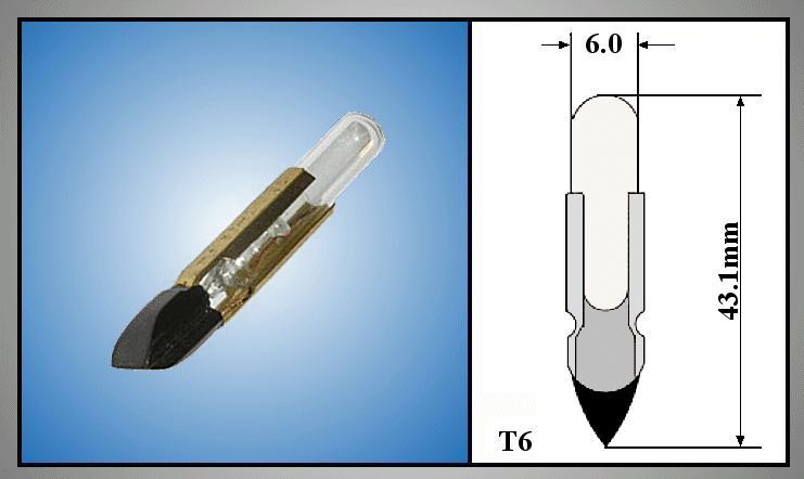 Izzó 12V 100mA TELEPHONE T6.8F LAMP12V/100-T6