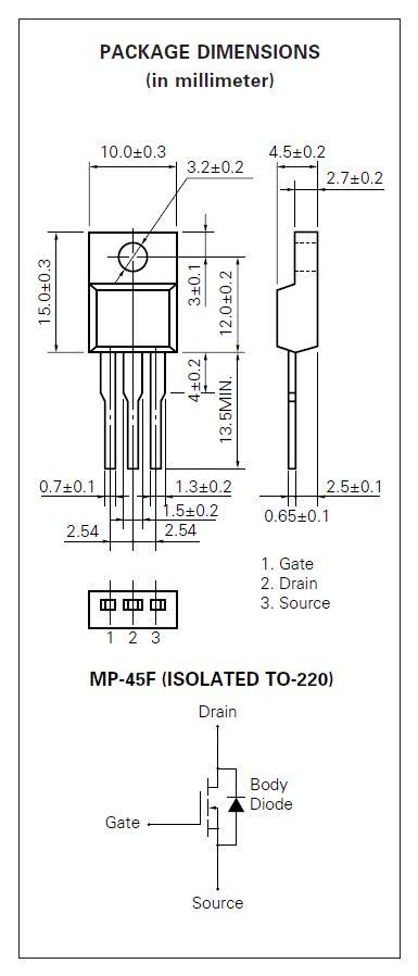 N-MOS 60V 25A/100Ap 25W 0.028R (13A) 2SK2723 -