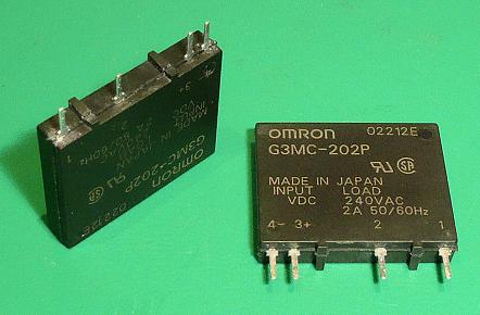 SSR 1x250V 2A 5VDC G3MC-202P DC5 RELAY-G3MC202P5 -