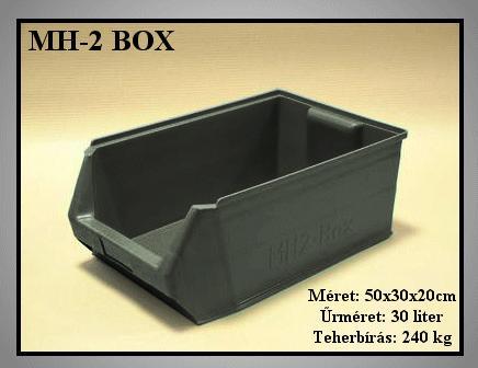 Tároló doboz MH2-Box II.oszt. 500x300x200mm BOX MH2-B