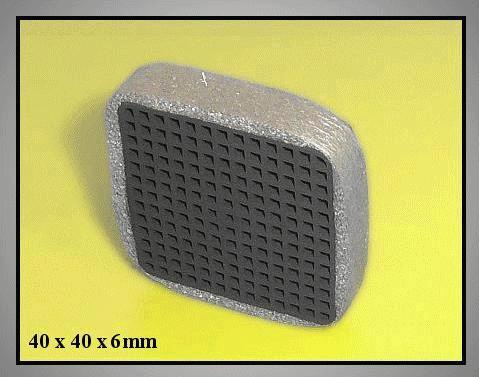 Aktív szénszűrő 40x40x6mm W8-DA0290106R