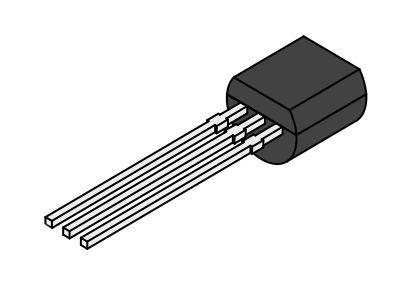 SI-N 60/40V 0.8A 0.5W 250MHz hFE: 40 min. TO-92 2N2222A-PL -