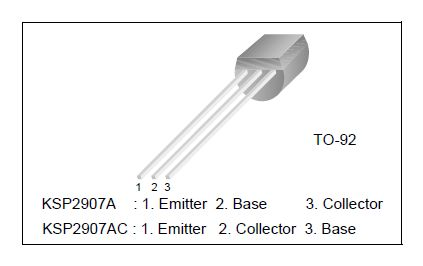 Tranzisztor PNP 120V 0.05A 0.4W 110MHzUNI 2SA1016 2SA1016 -