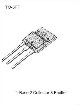 Tranzisztor PNP Darlington+D 160V 10A 70W 50MHz 2SB1588 2SB1588 -