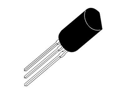 Tranzisztor NPN 250V 0.05A 0.6W 130MHz Cob:3pF 2SC1921 2SC1921 -