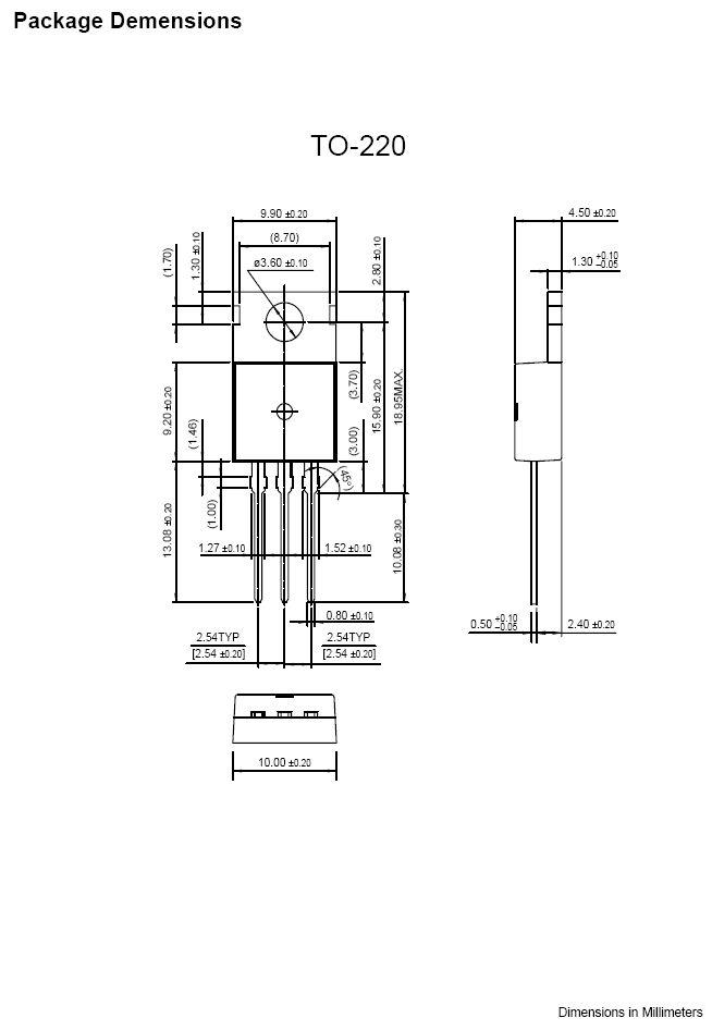 Tranzisztor NPN 200V 7A 65W 20MHz NF/SL 2SC2334 2SC2334 -