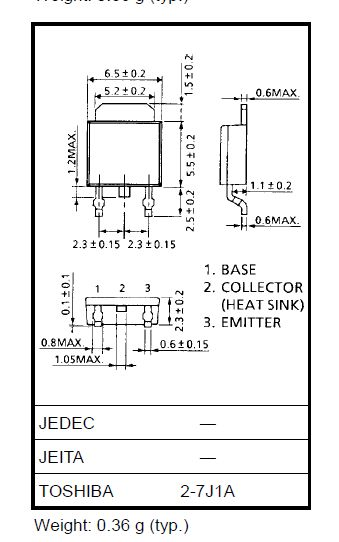SI-N 60/50V 5A 20W Ube:5V Tstg:1.0uS hFE:70-240 2SC3074-Y -