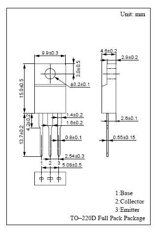 SI-N 80/80V 3A/5Ap. 25W 30MHz 2SD2374A-P -