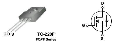 N-MOS 600V 6A/24Ap 45W 0.95R 2SK1118-PMC -