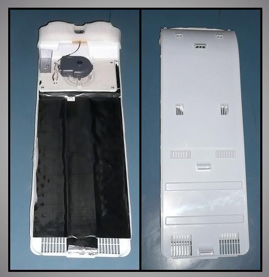 Hűtő ventilátoros hátfal egység W8-DA9702088U